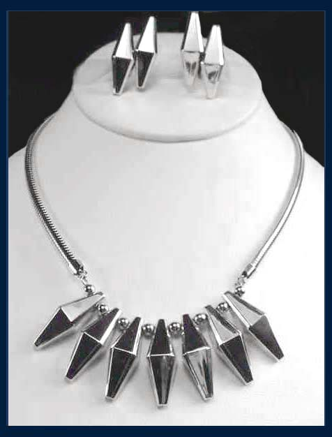 Hobé 14K White Gold over Sterling Demi Parure :  necklace jewelry jennifer lynn william hobe