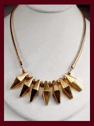 Gold Pendants, Gold Necklaces, Gold Antique Lockets :  fashion jewelry necklaces jennifer lynn