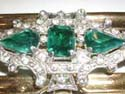 Pear and Emerald Cut Rhinestones