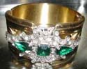 Emerald Green Rhinestones