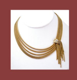 Henkel and Grosse Asymmetrical Necklace
