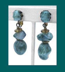 Natural Stone Haskell Earrings