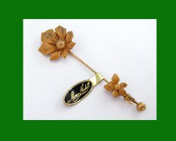 Lovely Miriam Haskell Stick Pin