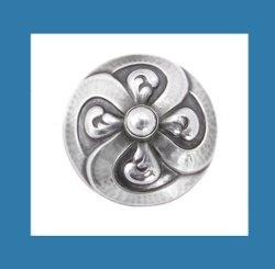 Georg Jensen Sterling Silver Pin