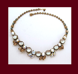 Dazzling Regency Rhinestone Necklace