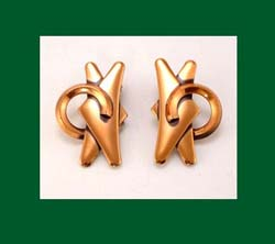 Renoir Copper Earrings