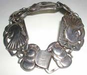 McClelland Barclay Sterling Dove Bracelet