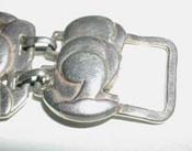 Sterling Fold-Over Hook Clasp Attachment