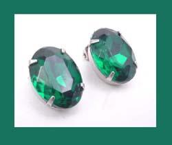 Amazon.com: Glitter Emerald Crystal Rhinestone Christmas Tree